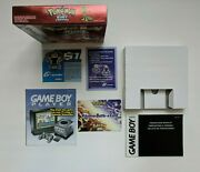 Pokemon Ruby Version Gameboy Advanced Box And Inserts - No Game, No Manual