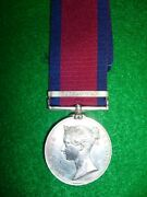 Military General Service 1793-1814 1 Clasp Chateauguay To Canadian Militia