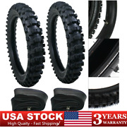 Front Rear Tire Replacement For Dirt Pit Bikes 50cc-150cc 70/100-19 90/100-16