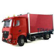Hercules 1/14 Scale Truck 2axles Rc Tractor Container Truck Painting Car