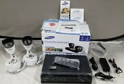 Samsung 4 Channel Video Security System 2 Camera Kit