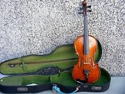 Antique Quality Violin Signed On The Inside J. Templeton With Bow And Case
