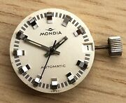 Mondia As 1783 Working Automatic 0 25/32in Day Movement Watch As1783 Watch Lady