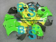 Yellow Green Gsxr1300 Fairing With Tank Seat Fit Gsx-r1300 04 97-07 13 A6