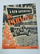 Allis Chalmers Model B And C Tractor Sales Brochure 1941