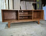 Handmade Solid Pine Wood Record Player Cabinet / Tv Stand / Made To Order