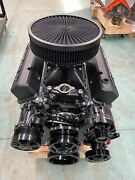 383 R Stroker Chevy Crate Engine A/c 526hp Roller Turnkey Cnc Heads 383 383 383