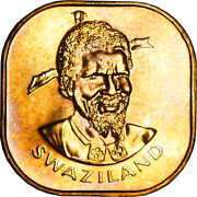 Swaziland Proof 2 Cent Coins Mixed Dates/grades Pick The Coin You Want