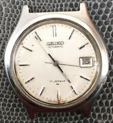 Seiko 7025-8110 Doesn't Works [ Bal. Staff Ok ] For Parts Automatic 1 1/2in Date