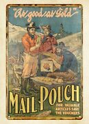 Mail Pouch Tobacco Metal Tin Sign Decorative Reproductions