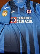 Joma Cruz Azul Home Jersey 2021/2022 100 Authentic Includes Champion Patch
