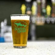 Dogfish Head Craft Brewed Ales Pint Glasses Set Of 2