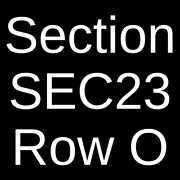 6 Tickets Rod Stewart And Cheap Trick 7/19/22 Cuyahoga Falls Oh