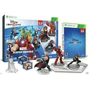 Disney Infinity Marvel Super Heroes 2.0 Edition Video Game Starter Pack Xbox