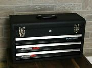New - Vintage Craftsman 3-drawer Rally Tool Box With 2 Keys - Free Shipping