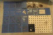 Large Us Coin Collection - Indian Heads Liberty V Nickels Wheat Cents Errors