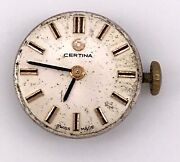 Certina 13-20 Machinery Movement Sphere Glass Spare Parts 0 5/8in 3wc