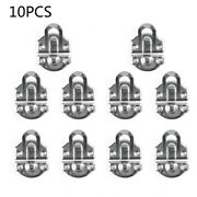 10pc Jewelry Chest Wine Gift Box Case Toggle Hasp Latch Clasp Can Lock Lockable