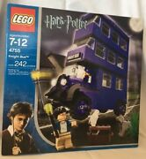 Lego 4755 Harry Potter Knight Bus 2 Minifigures 242 Pieces New Unopened