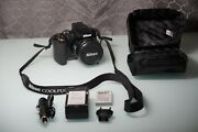Nikon Coolpix P90 12.1mp Digital Camera Black W/charger+batteries - Fully Tested
