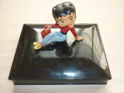Rare 1986 Made In Italy Betty With Character Retator Memo Case Figurehead King