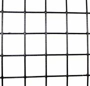 2' X 100' 14 Gauge Welded Wire Pvc Coated 1.5 X 1.5 Fence Mesh Animal Fencing