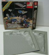 Lego 453 Crater Base Plates W Open Box Vintage Complete Used