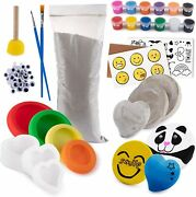 Rock Creating And Painting Kit For Kids And Adults Arts And Crafts For Kids And