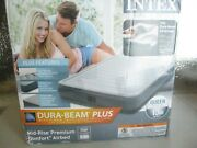 Intex Ap619a 13 Comfort Dura-beam Airbed With Internal Electric Pump Bed Grey