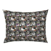 Chihuahua Chihuahuas Dog Dogs Pet Pets Halloween Pillow Sham By Roostery