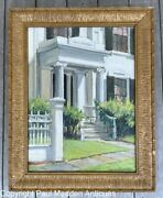 Levi Starbuck House Nantucket Oil Painting By Ruth Haviland Sutton