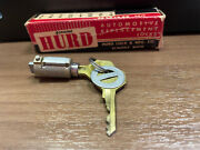 Late 1947-1951 Ford And Mercury 1949-1951 Lincoln Ignition Lock Cylinder Nos Oem