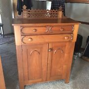 Antique Country Walnut Jelly Cupboard Circ. 1860s