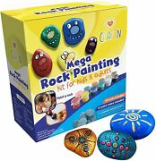 Mega Rock Painting Art Kit For Kids Adults And Families Diy Arts And For