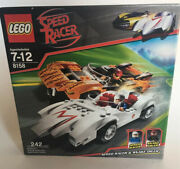 Lego 8158 Speed Racer And Snake Oiler New And Factory Sealed Fast Shipping