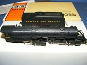 N Scale Concor Rivarossi 2 8 8 2 Mallet Norfolk And Western 2171 / W Box