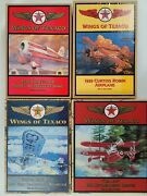 Wings Of Texaco Lot Of 4 5th 6th 7th 8th In The Series With Boxes