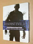 Resident Evil 6 New And Sealed Pre-order Box / Steelbook G2 Ps3