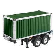 Hercules 1/14 Scale Rc 20ft Chassis Container Semi Trailer Tamiya Tractor Truck