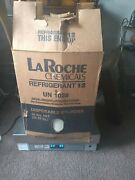 Laroche Refrigerant 12 R12 Freon New Full Sealed 50lbs 60.80 Without Box Its Ful