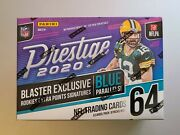 2020 Prestige Football Factory Sealed Blaster Box - Exclusive Blue Parallels
