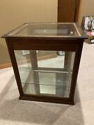 Antique Robt Brand And Sons Sally Ann Bread Bakery Wooden Display Case Oshkosh Wi