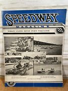 Vintage Speedway Magazine May1935 Automobile Motorcycle Boats