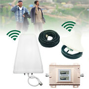 Cell Phone Signal Booster Home Att 4g Lte T-mobile Dual Band Antenna Kit 850mhz