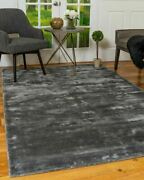 Handloomed Wool Blend Eco-friendly Contemporary Solid Columbia Natural Area Rug