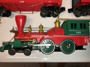 Lionel Coke Cola Anniversary Set Steam Engine And Tender With Sounds .
