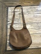 Will Not Ship Vintage Early Coach Leatherwear Saddle Bag Nyc.