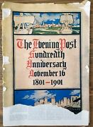 Evening Post New York Newspaper 1901 100th Anniversary Special Issue Vintage