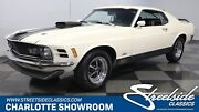 1970 Ford Mustang Mach 1 Classic Vintage Chrome Muscle Car Coupe Shaker Hood Pony Manual