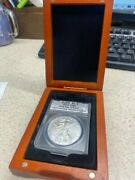 2013 Silver Eagle Ms 70 First Day Issue